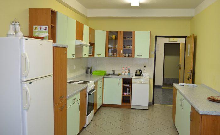 Kuchyňka na internátě