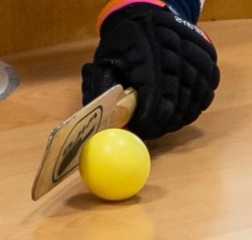 pálka s míčkem