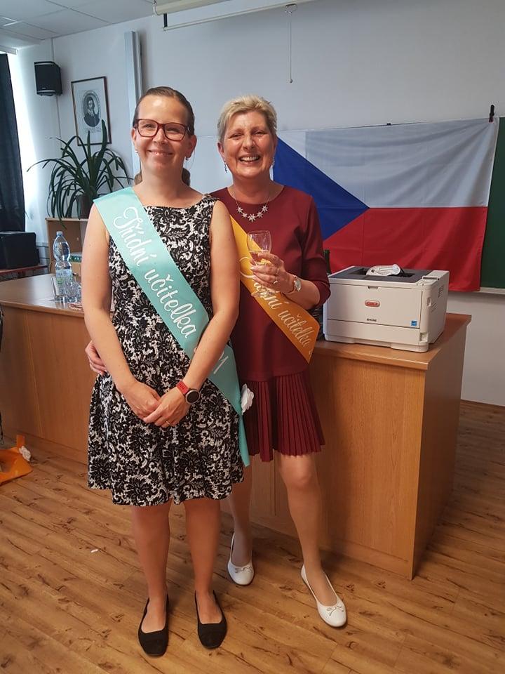 Ošerpované třídní učitelky Haňová a Petržilková